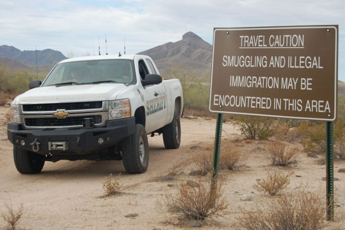 The federal Bureau of Land Management posts warning signs for tourists who would venture into...