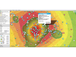 Spillman Technologies introduced its new map-based analytics tool right before this year's IACP....