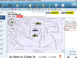 Spillman'sMobile 4.6 software gives public safety agencies on-scene tools. Personnel are able...