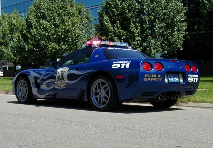 Sporty Police Vehicles