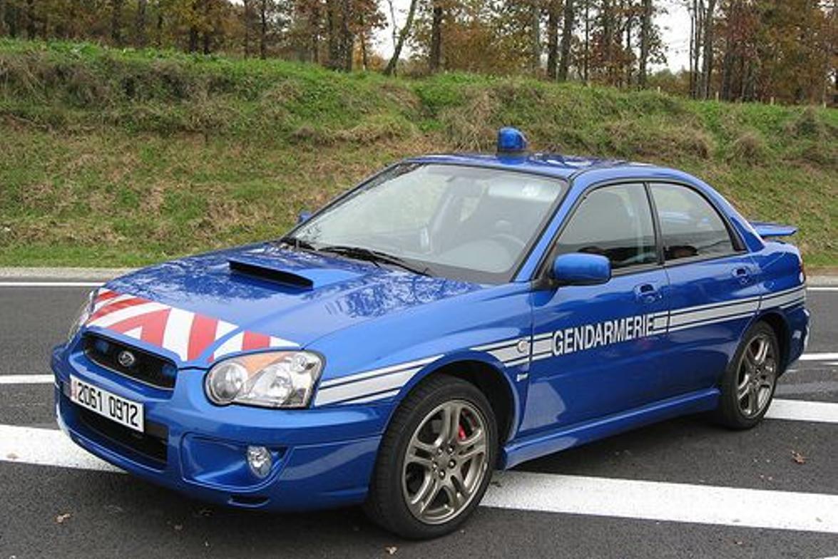 Subaru Impreza Gendarmerie. Photo courtesy of Colargol87 (Flickr.com)