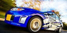 Wis. Agency's Subaru STI Rally Car