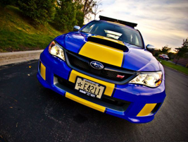 The Subaru is used for community relations, traffic enforcement, and cruising enforcement.