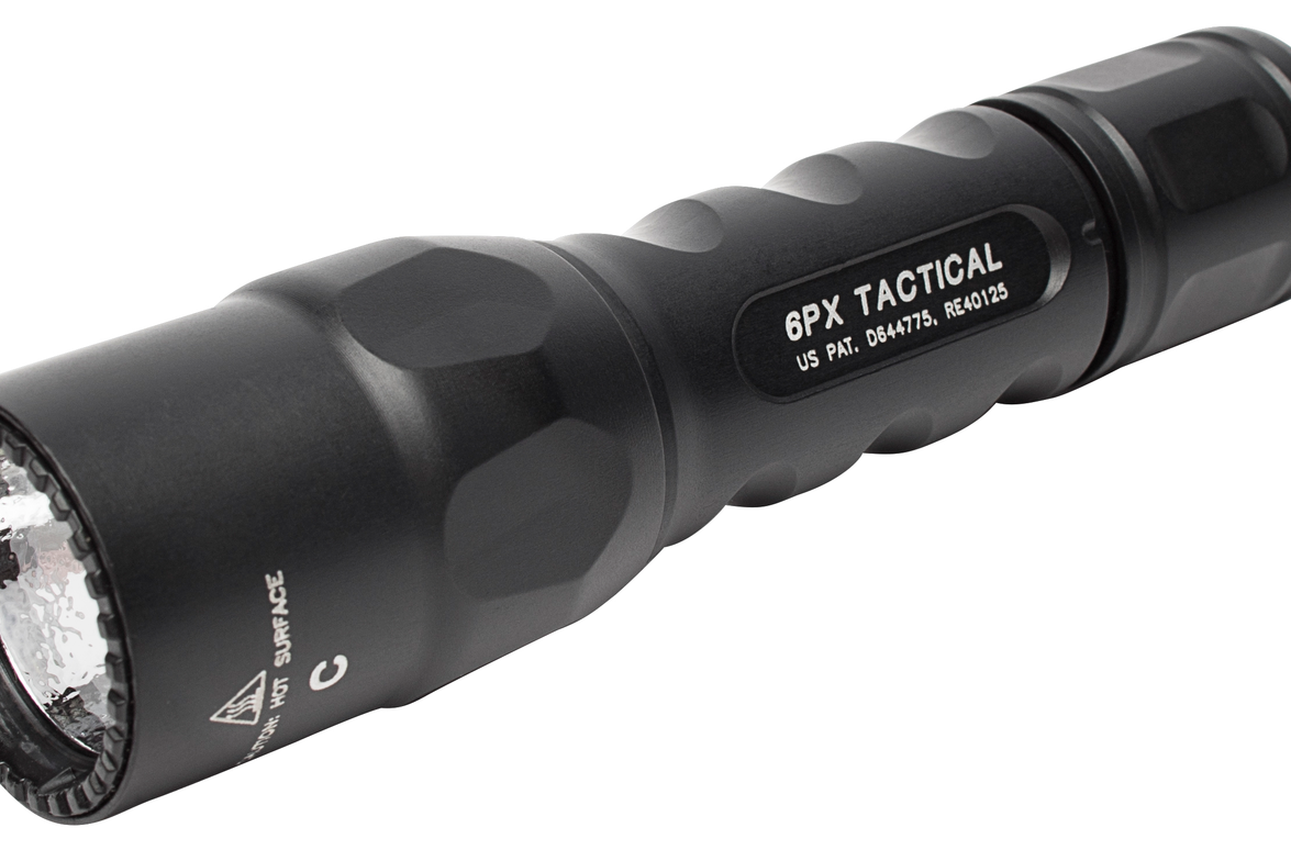 SureFire 6PX TacticalSingle-Output LED Flashlight: The 6PX Tactical provides a single output...