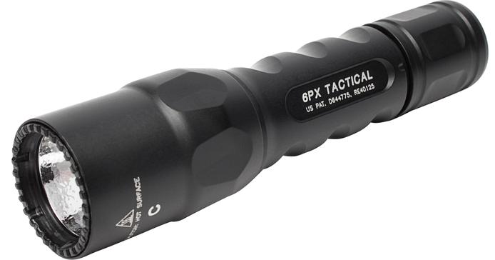 SureFire 6PX TacticalSingle-Output LED Flashlight: The 6PX Tactical provides a single output...