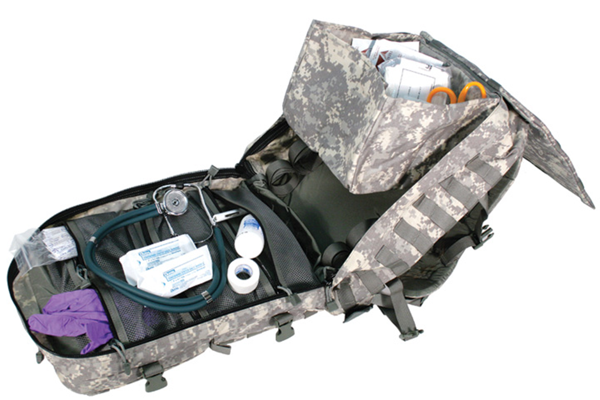 BlackHawk's Special Operations Medical Backpack is a mid-sized,  frameless medical pack that...