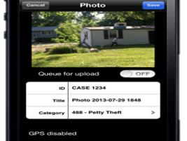 TASER International has released a mobile app that allows users of its Evidence.com evidence...