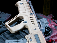 The SAR-21 (Tavor) is a compact bullpup rifle developed for the Israel Defense Forces.