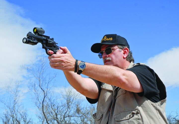 POLICE author Nick Jacobellis believes the revolver is ideal for tactical use. The revolver is...