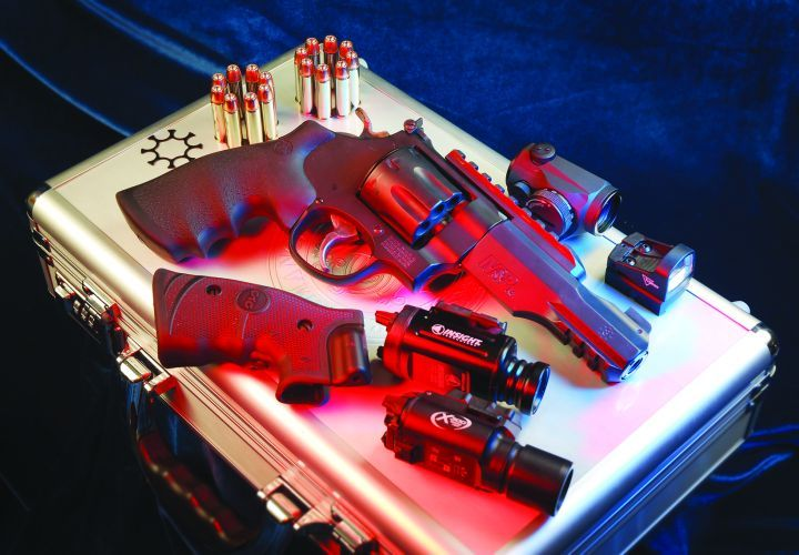 While many people discount revolvers, S&W's 327 TRR8 is powerful, reliable, and carries as many...