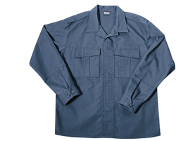 Blauer's B.DU Tactical Shirt features an athletic cut with stretch side panels for a lean...