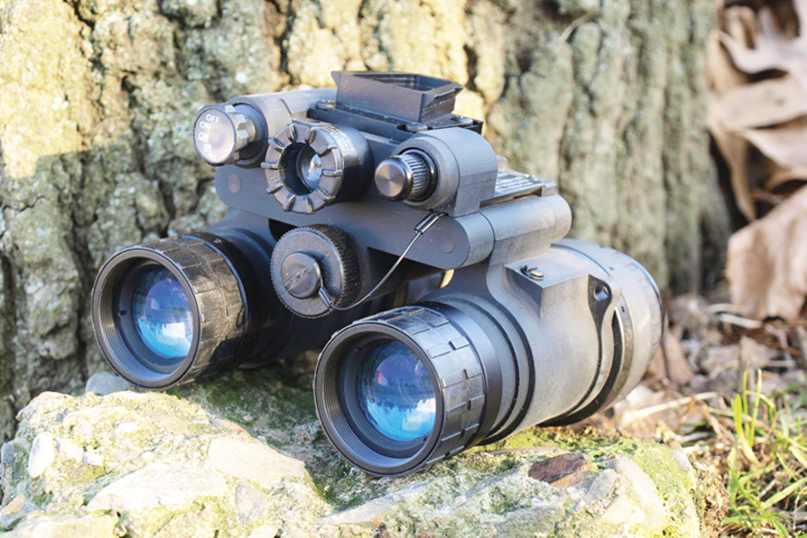 The Night Vision Depot Binocular Night Vision Device with Single Gain Control (BNVD-SG) has been...