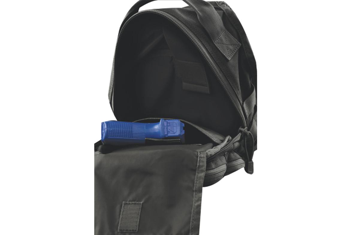 Trek Sling Pack—1,050-denier Nylon construction for durability. 11-Liter capacity (672 cubic...