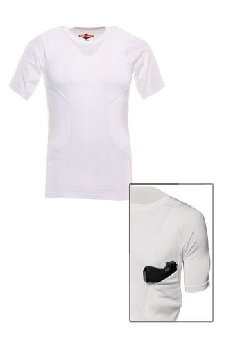 The TRU-SPEC 24-7 Series Concealed Holster Shirt is designed for concealed carry of a small- to...