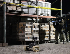Officers from Redwood City (Calif.) PD must identify IEDs and communicate their location to the...