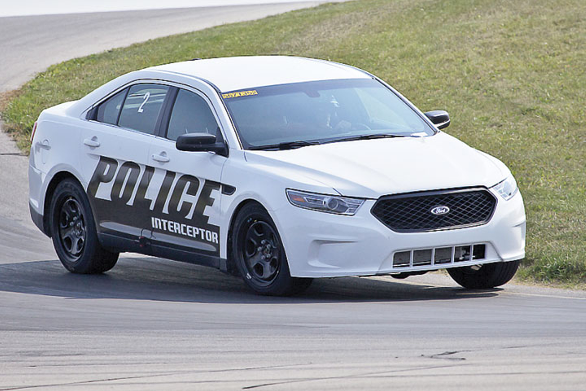 Ford's Police Interceptor sedan. Photo: Raymond Holt, MSP
