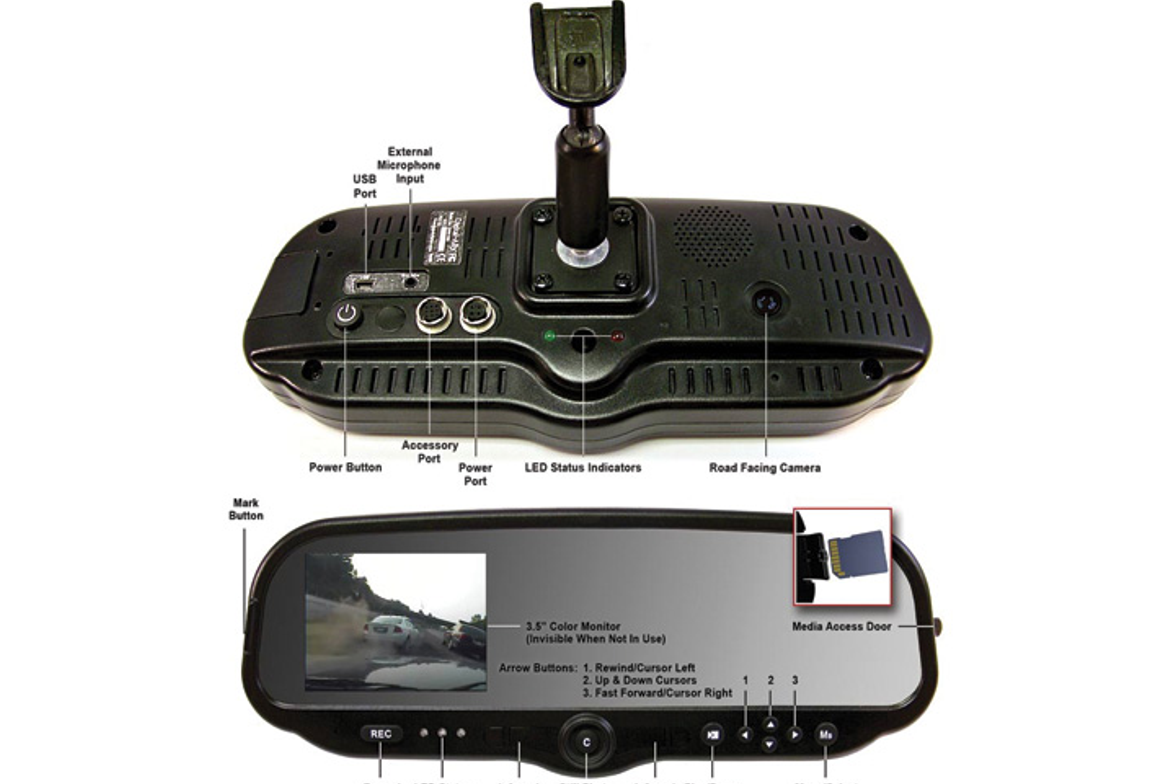 Priced at only $1,895, Digital Ally: DVM-100's is a high-quality  digital  in-car video system...