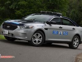 The Virginia State Police's 2013 Ford Police Interceptorsedan