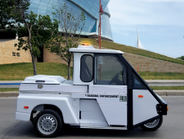 Westward Industries' GO-4 parking enforcement and light patrol vehicle is used by cities from...