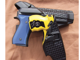 Blackhawk's SERPA Auto Lock Duty Level 3 retention holster uses your natural drawing motion to...