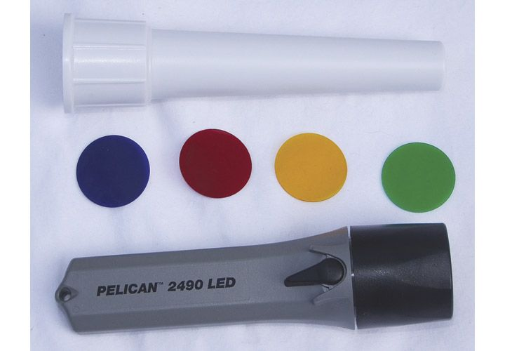 Pelican's 2490 is a multi-purpose backup light. It runs on four AA batteries and produces an...
