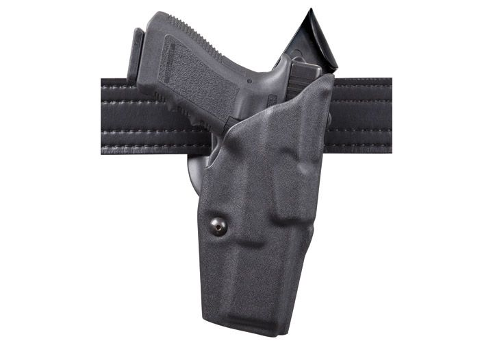 The Safariland Model 6390 ALS Level I Retention open-top duty holster can increase its security...