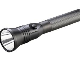 Streamlight's Stinger LED HP and Stinger DS LED HP rechargeable flashlights provide brightness...