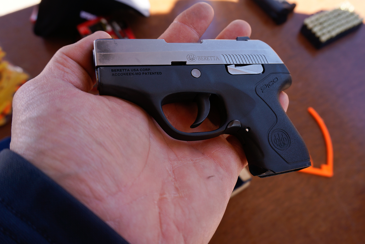 Beretta says its new Pico is the thinnest .380 auto made. The snag-free Pico's slide and frame...