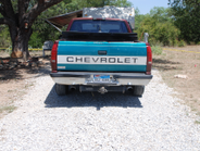 The shooter drew a .30-30 rifle from the bed of a pickup truck and shot at Sgt. Means from...