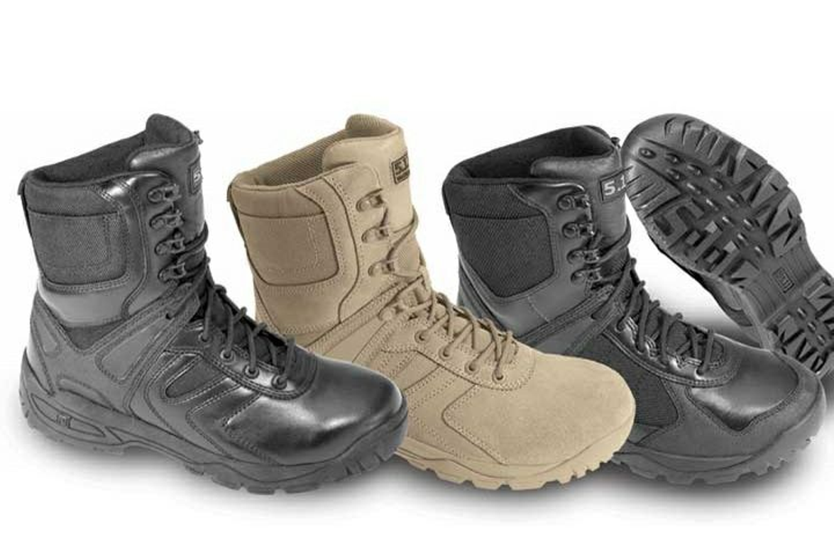 The 5.11 XPRT (Extreme Performance for Rapid Tactics) Black Boot comes with a Sympatex...