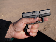 Glock's new G42 .380 caiiber pistol was one of the stars of Media Day at the Tange. The G42...