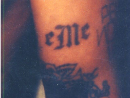 "The Mexican Mafia uses the letters ""eMe,"" which spell out the Spanish pronunciation of the..."