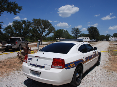 Sgt. Steven Means of the Early (Texas) PD was the first on scene at the trailer park where it...