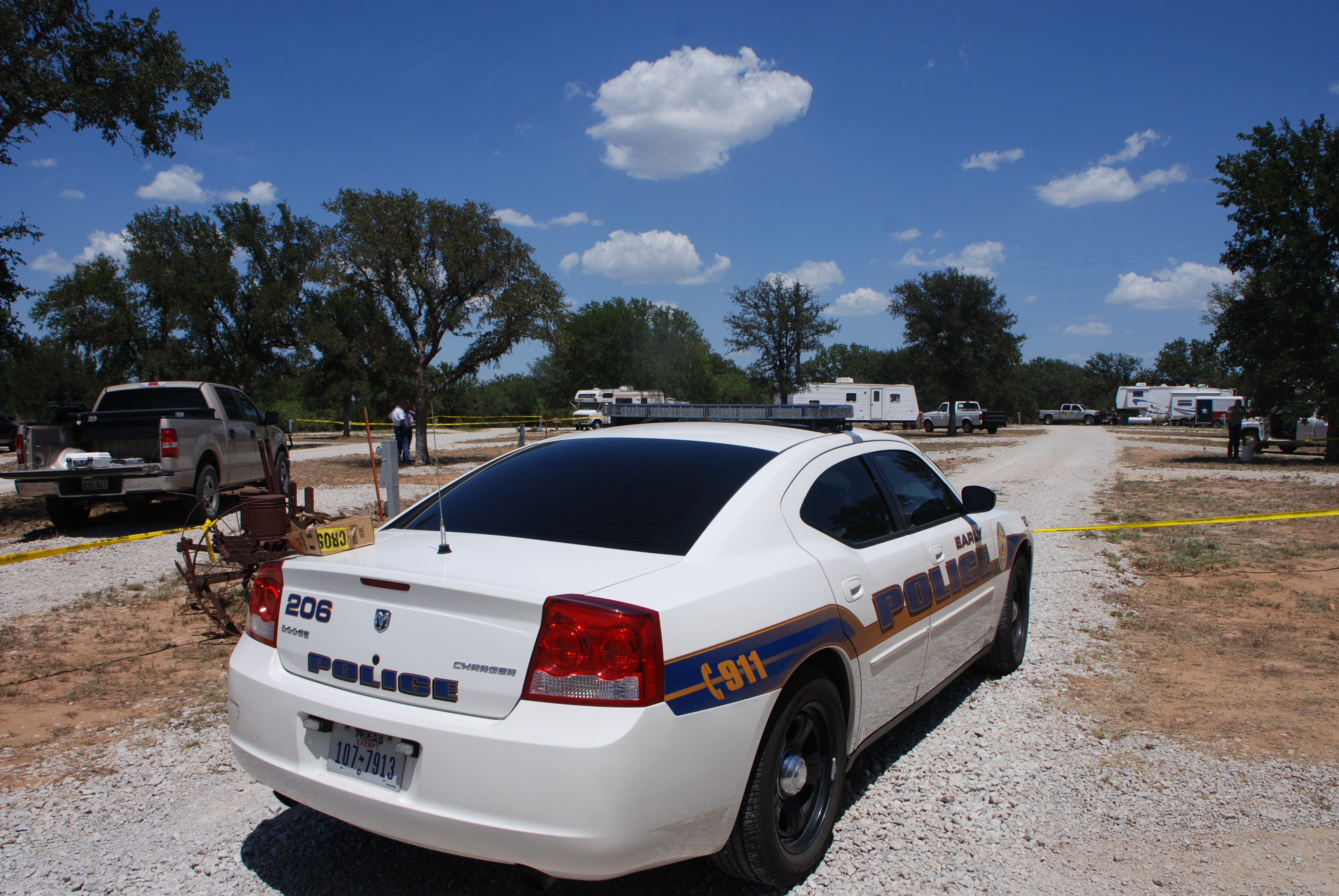 Shots Fired: Brown County, Texas Crime Scene Photos