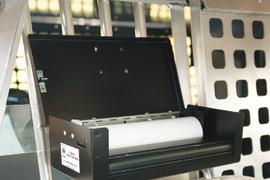 Vehicle Headrest Printer Mounts