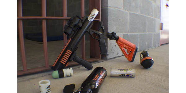 Single-Shot Less-Lethal Launcher