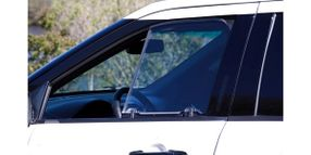 Transparent Armor Window Insert