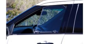 Transparent Armor Window Insert