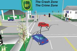 Crash Zone and Crime Zone