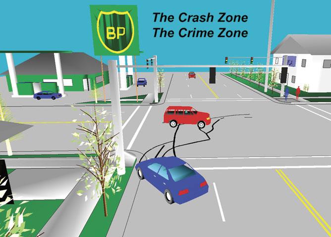 Crash Zone and Crime Zone