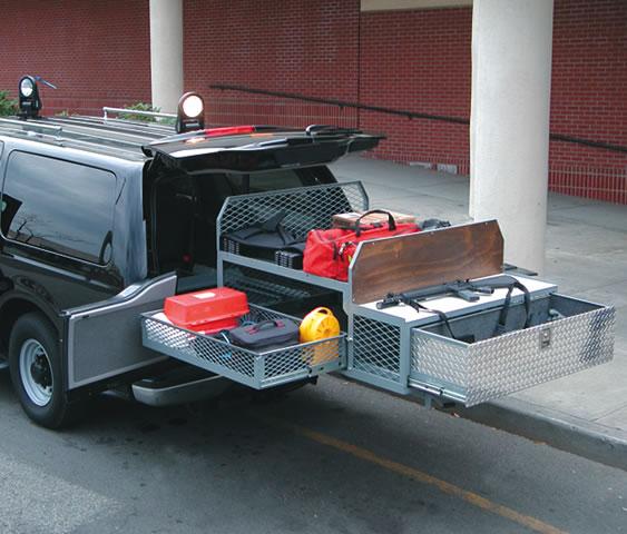 Vehicle Equipment Storage