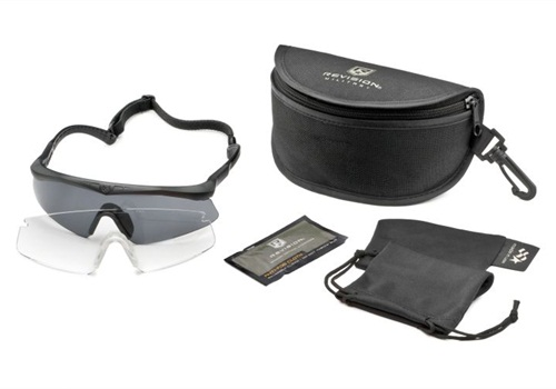 Revision's Sawfly Eyewear in size small fits many women's faces better.