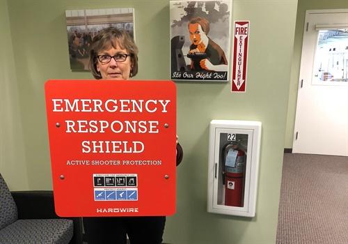 Hardwire's Emergency Response Shield (Photo: Hardwire LLC)