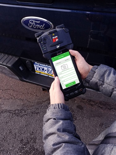 With a wide range of applications, the N5Z1 can be used for parking enforcement, e-citations for moving violations, fingerprint ID, code enforcement, and credit card payments. (Photo: Two Technologies)