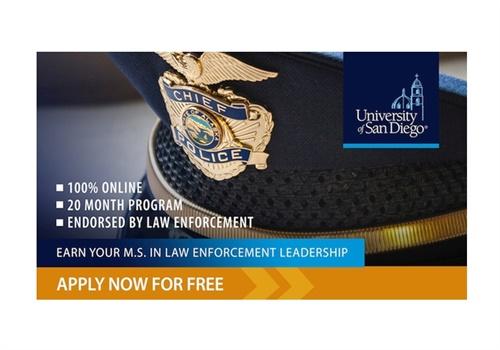 University of San Diego M.S. in Law Enforcement