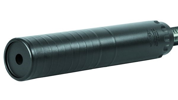 YHM's new lightweight and cost-effective sound suppressor, the Resonator. Photo: YHM