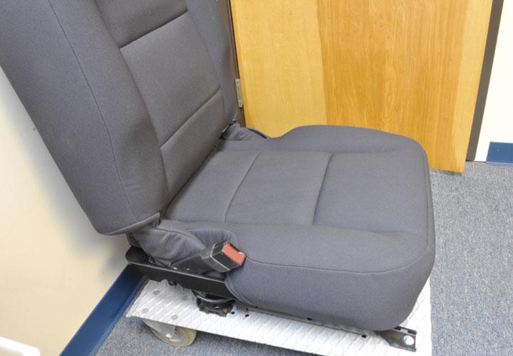 Officers Patrol Seat