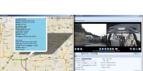 In-Car Video GPS Mapping
