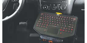Rugged Keyboard and Mount System
