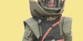 Saviour EOD Bomb Disposal Suit